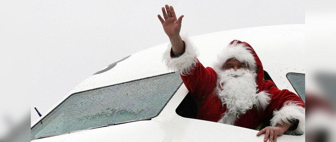Петербуржцы в костюмах Деда Мороза и Снегурочки смогут бесплатно летать на самолетах