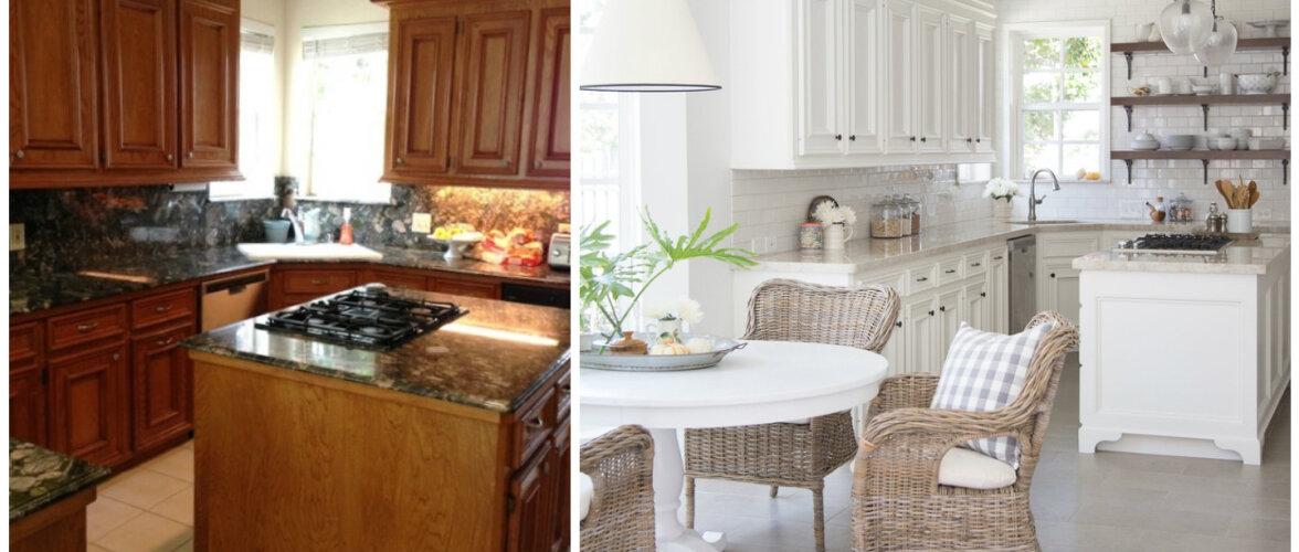 ENNE JA PÄRAST: uue välimusega köök ilma köögimööblit vahetamata