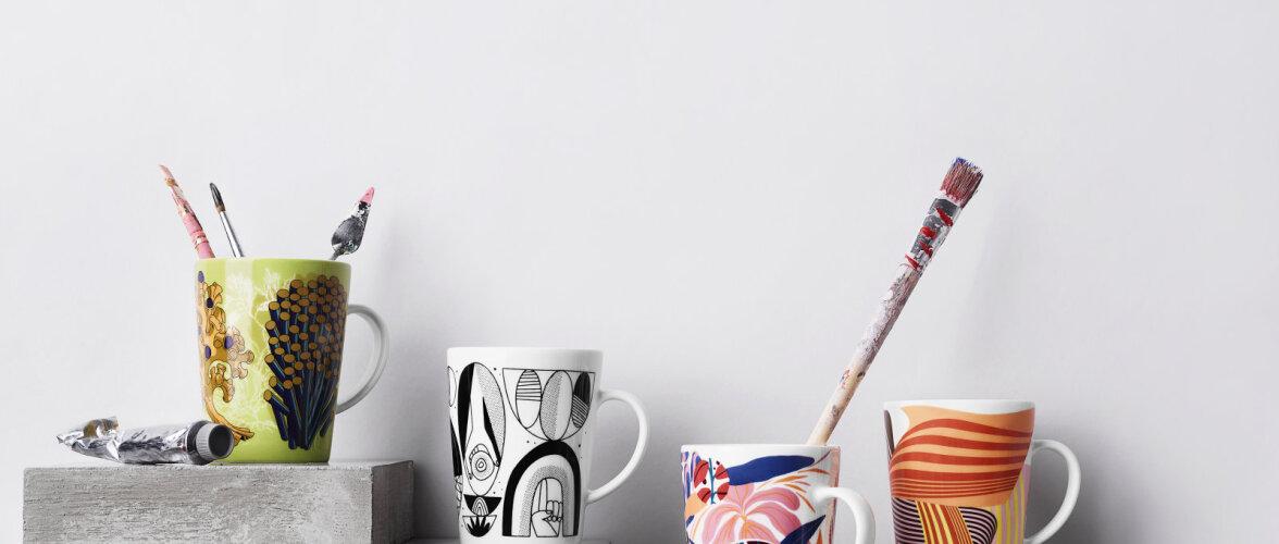FOTOD | Vaata Iittala uut ja värvikat tassikollektsiooni