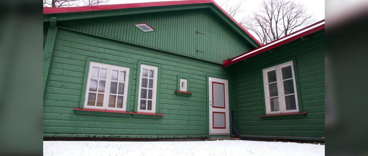 Uus, väärikas ja taastatud puitarhitektuur Kadriorus
