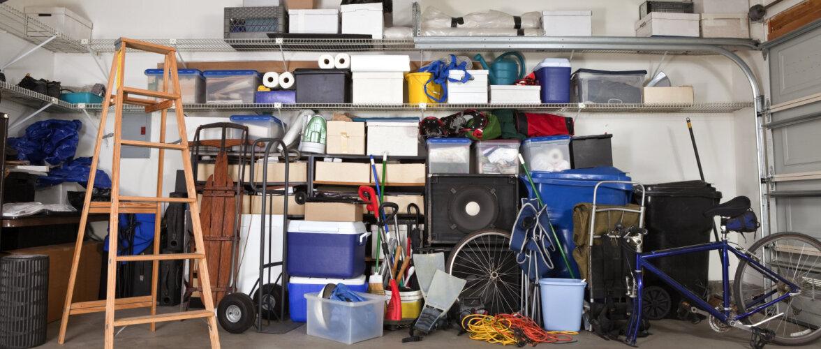 Garaažis kord majja! Kuidas paigutada tööriistu ja asju nii, et auto ka ära mahuks?
