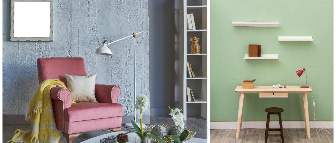 VÄRVISPIKKER: Need värvid muudavad interjööri suuremaks ja avaramaks