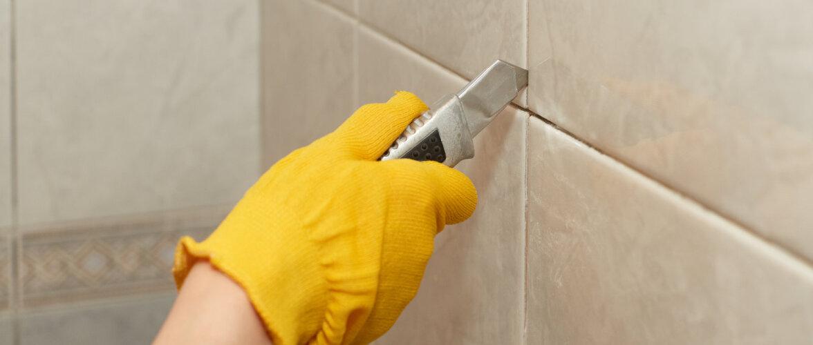 VIDEO | Kuidas eemaldada katkine vannitoaplaat ja asendada see uuega?