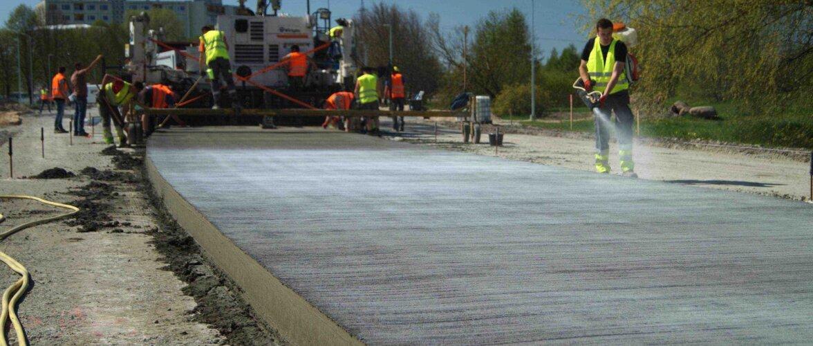 Kui ehitaks õige kõik Eesti maanteed betoonist?