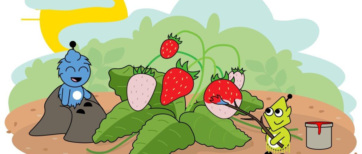 Loe koos lapsega| Kuidas urmel Ninni maasikahaldjaga sõbraks sai