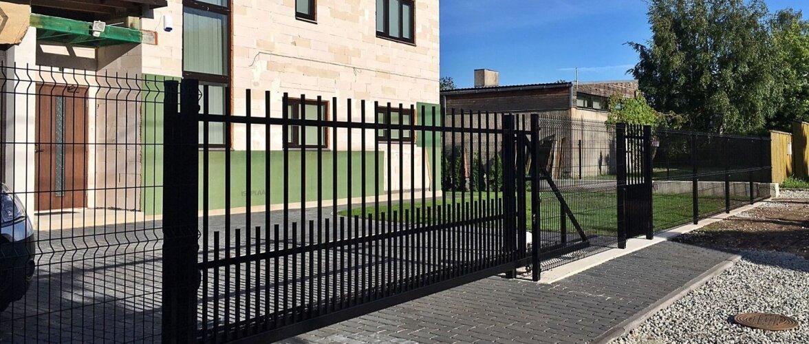 Tiib- või liugvärav? Värava automaatika valikul arvesta väravatüübi ja kasutuskoormusega