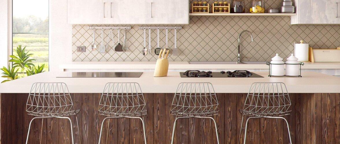 Köögi tagasein — eri materjalide head ja vead