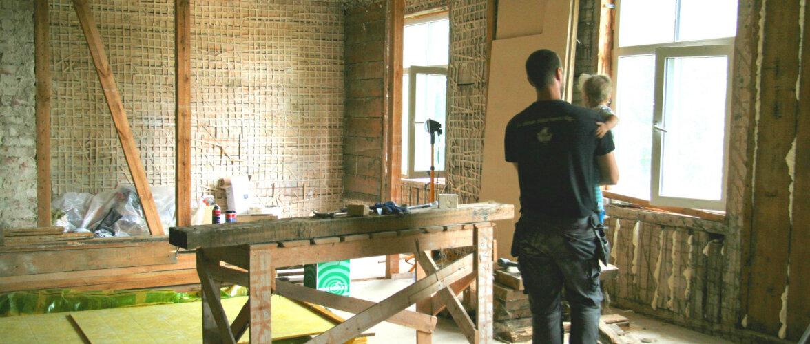 KODU KOLLASES MAJAS: Teeme seinad soojaks ja ajame põrandad loodi!