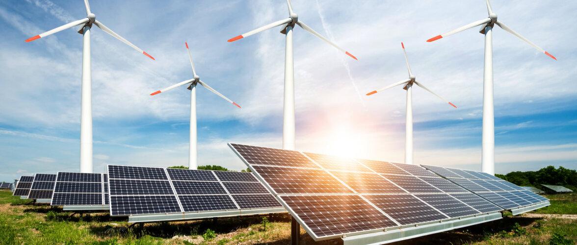 Uuring: roheline energiasektor pakub enim võimalusi ekspordiks