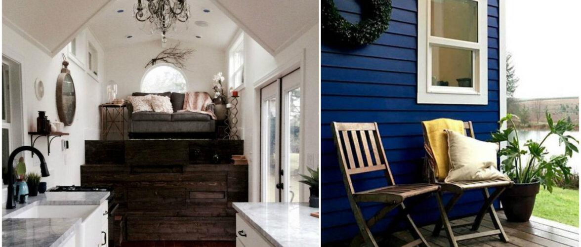 18 ruutmeerit puhast luksust — moodsate detailidega täidetud imepisike elamine
