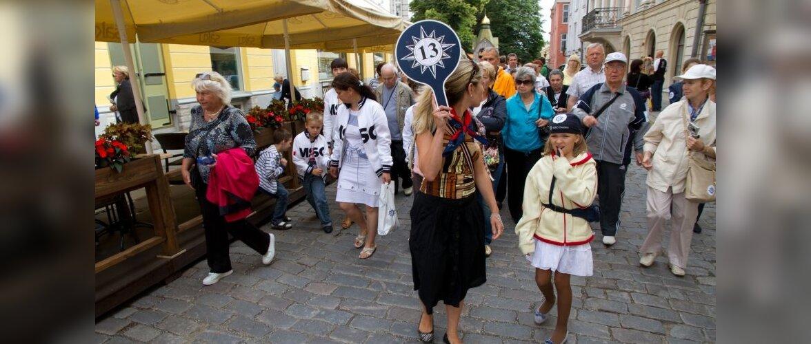 В прошлом году иностранные туристы потратили в Эстонии 1,3 миллиарда евро