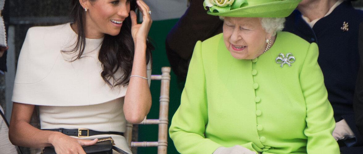 Meghan Markle ja kuninganna Elizabeth II – kuidas nad tegelikult omavahel läbi saavad?