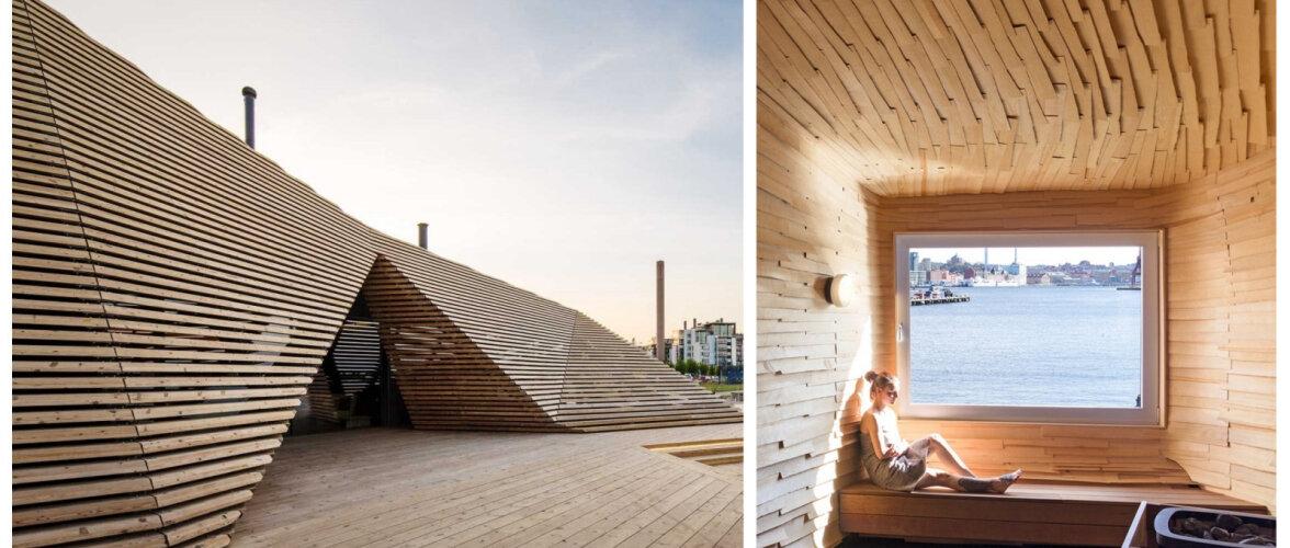 FOTOD   Kuus tõeliselt pilkupüüdvat põhjamaist saunamaja
