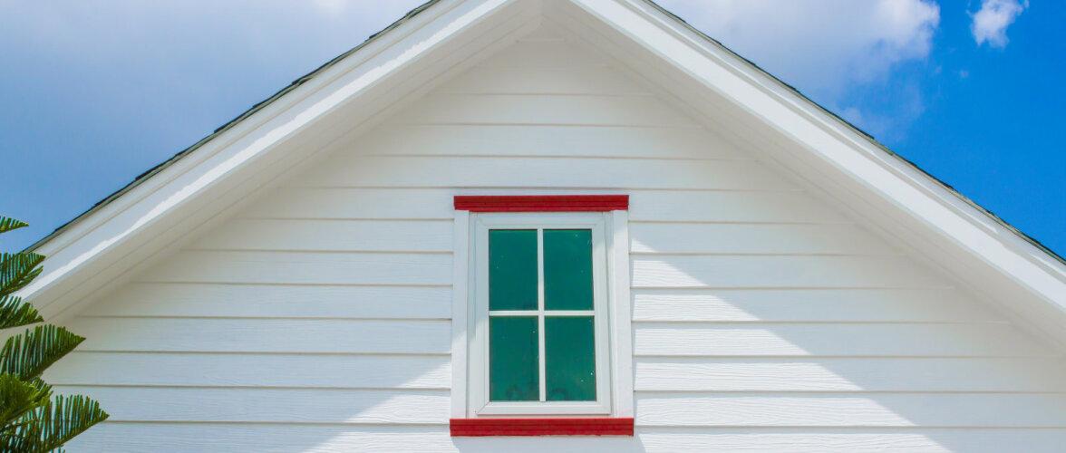 Milliseid värvitoone sobitada kokku maja fassaadil?