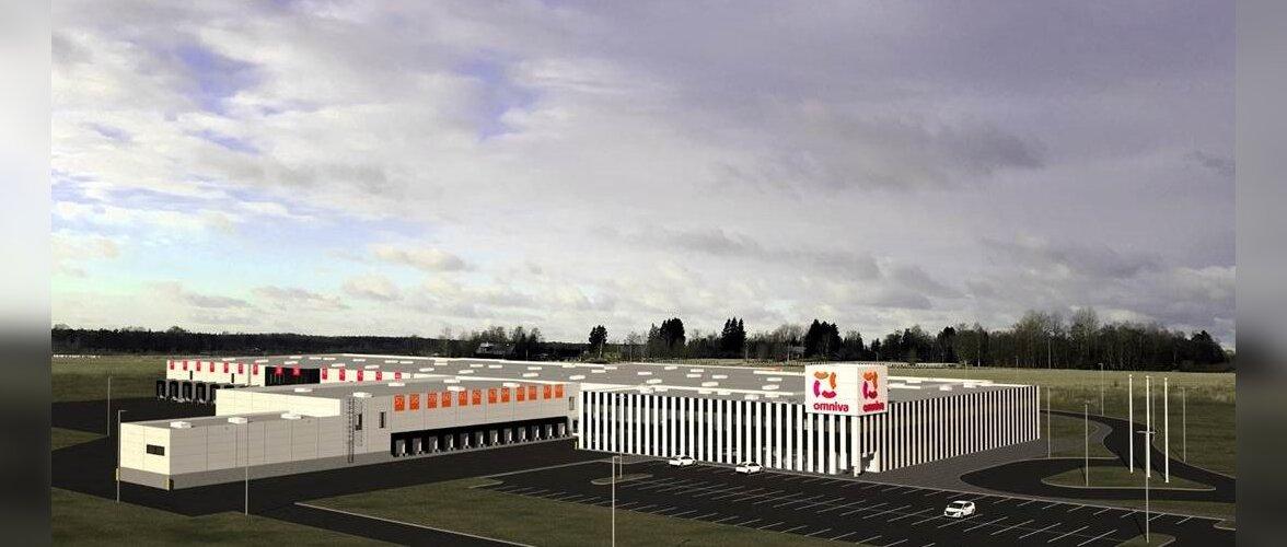 Omniva valis välja uue logistikakeskuse ehitaja. Aasta pärast valmib Jüris Baltikumi kaasaegseim logistikakeskus