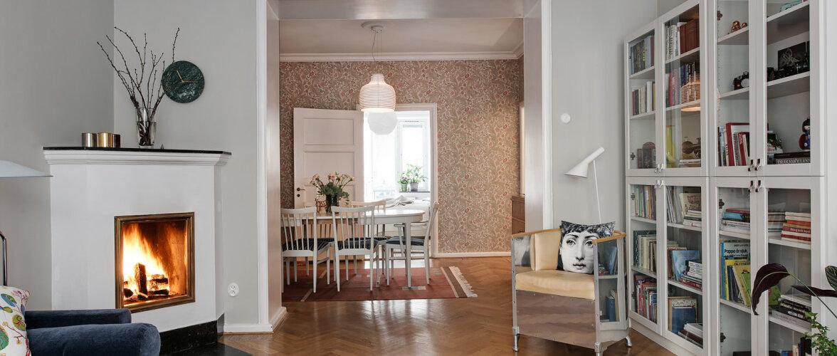 Värvikas kodu 1930. aastate kortermajas kombineerib uut ja vana
