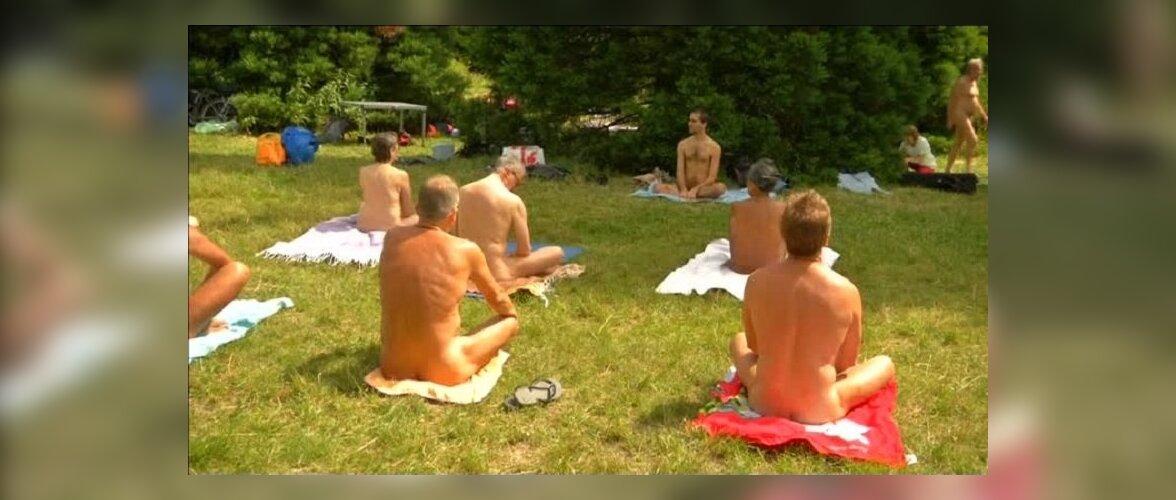Под Парижем открывается парк развлечений для нудистов