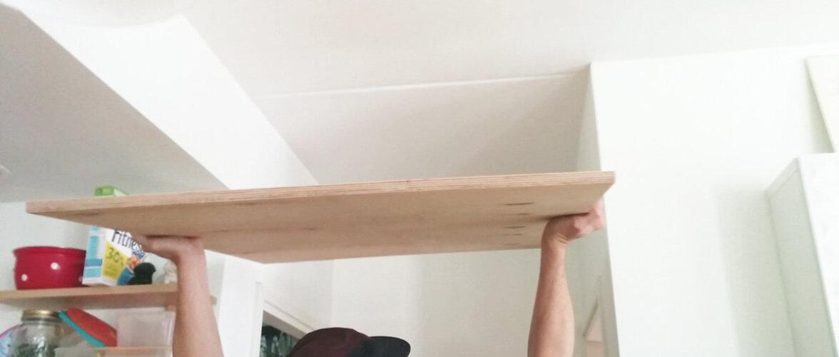 NUTIKAS IDEE: Kuhu väikses kodus asjad ära mahutada