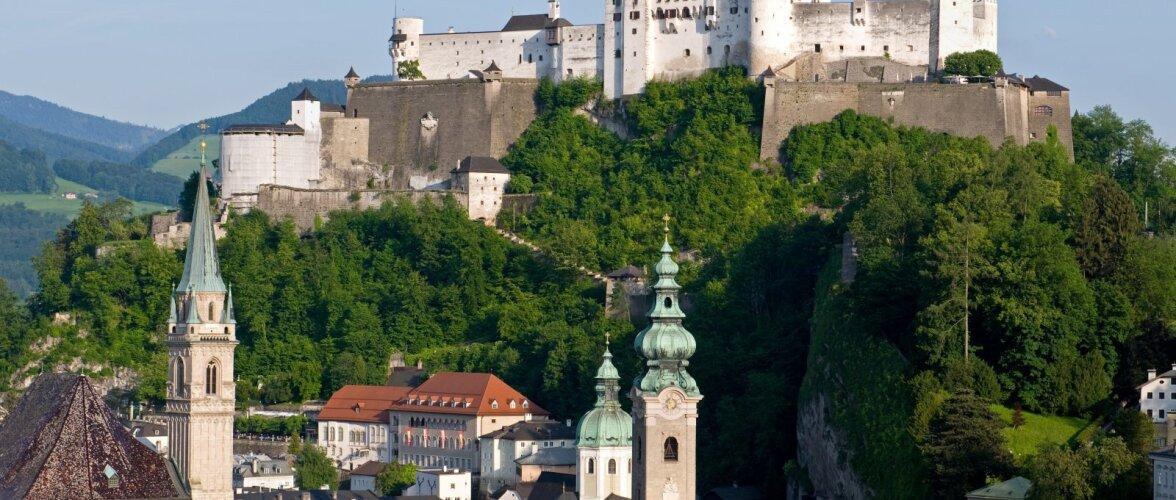 Imeline reisisihtkoht   Salzburg — unistusi täis linn, mille kohal hõljub Mozarti vaim