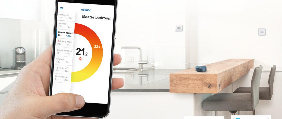 Moodsa kodu nähtamatu põrandaküttesüsteem