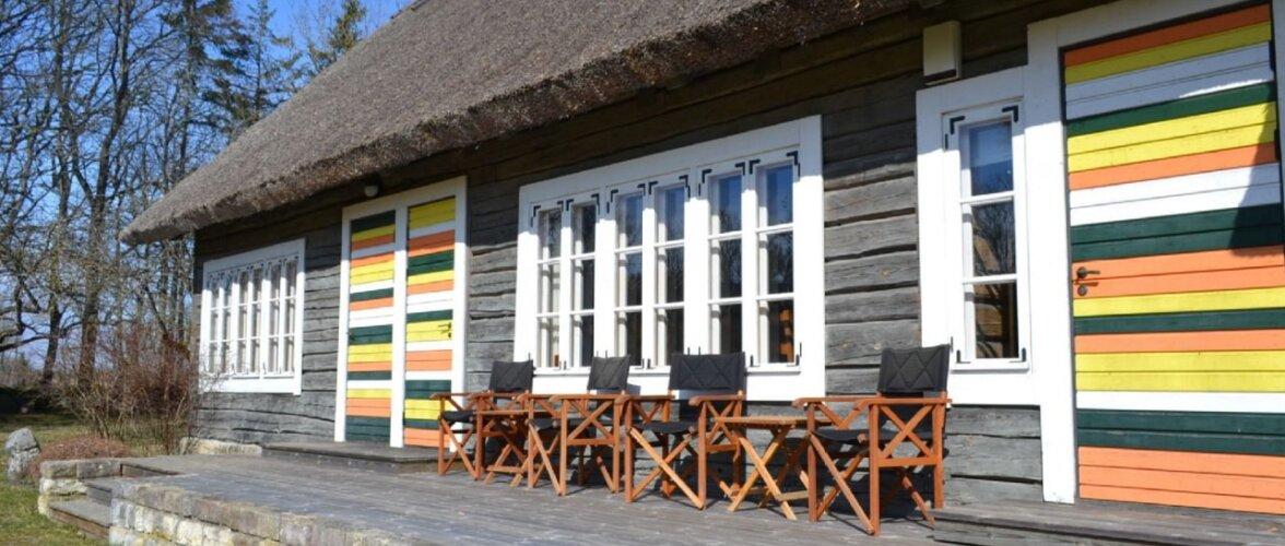 Terviklikuks taastatud talukompleks Muhu saarel