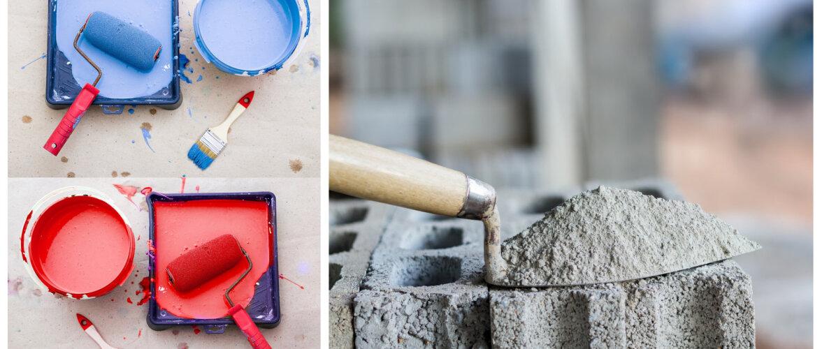Ettevaatust — ohtlikud ained ehitus- ja viimistlusmaterjalides, millest mitmeidki leidub meie kodudes