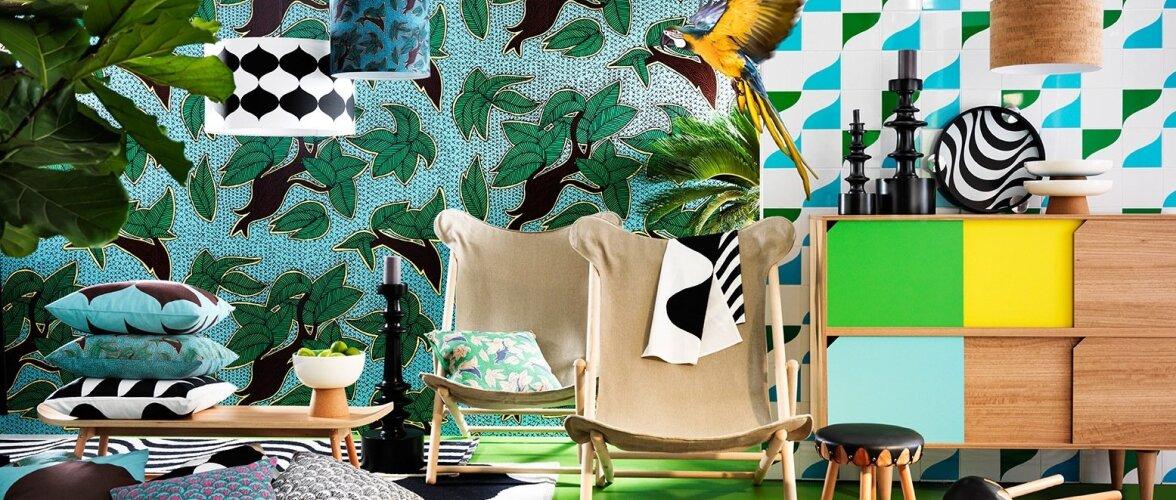 FOTOD: IKEA uus kollektsioon toob kargesse talve eksootilised värvid ja mustrid