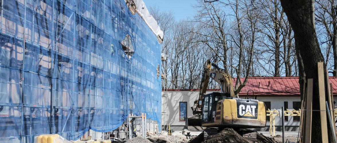 Üllatav ehitusturu kasv ehitusfirmades rõõmuhõiskeid esile ei kutsu. Mida arvavad olukorrast suurtegijad?