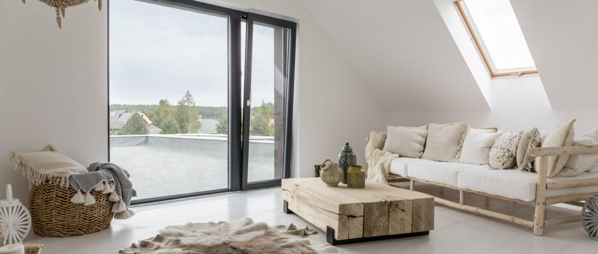 Looduslikud materjalid loovad rahuliku ja energiat andva kodu: vähenda, korduvkasuta ja uuskasuta