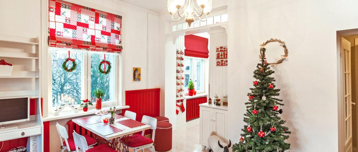 Kodukirja jõulueris: Jõulupunane kodu Stalini-aegses majas