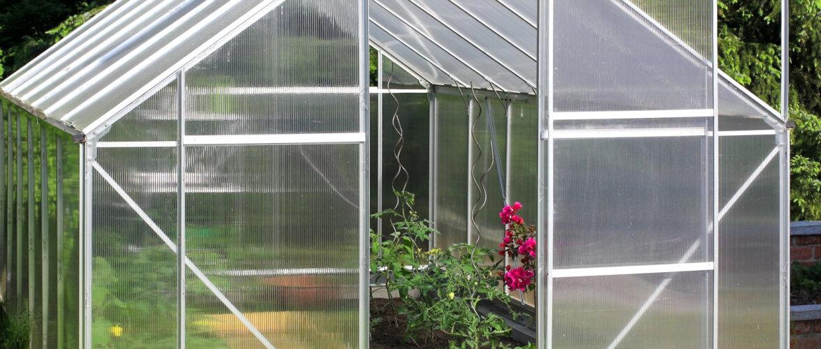 Aeg püstitada kasvuhoone