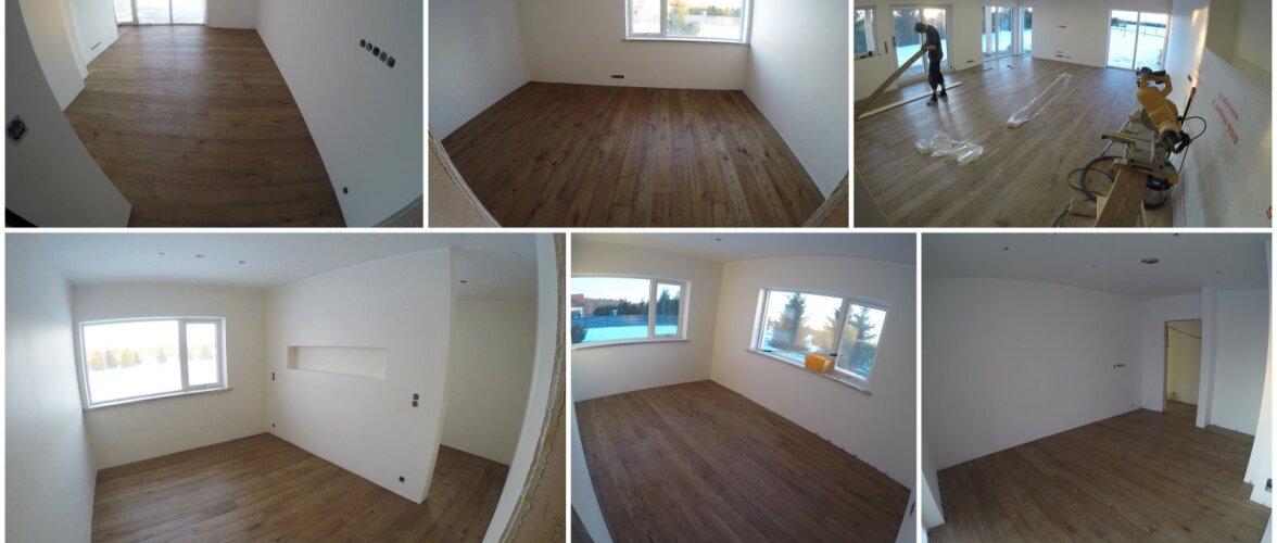 OMA PESA: Põrandalauad ja paigaldajad Lätist