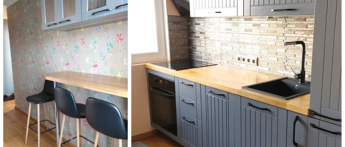 """FOTOVÕISTLUS """"Minu stiilne köök""""   Pisike ja praktiline köök paneelmajas"""