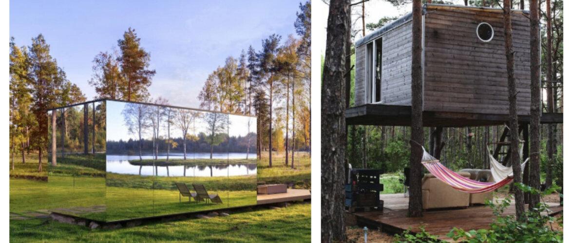Unistad ajutisest suvekodust? Idüllilised majad kaunites Eestimaa paikades, mida puhkuseks üürile võtta