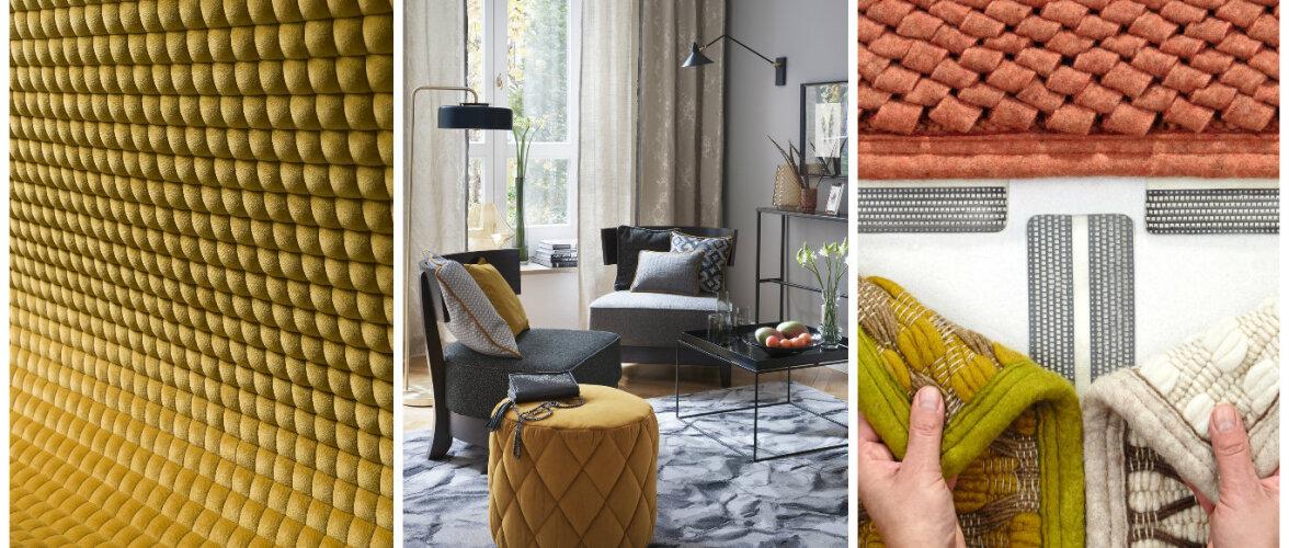 TRENDID: Millega täita kodu — imelised tekstiilid messil Heimtextil