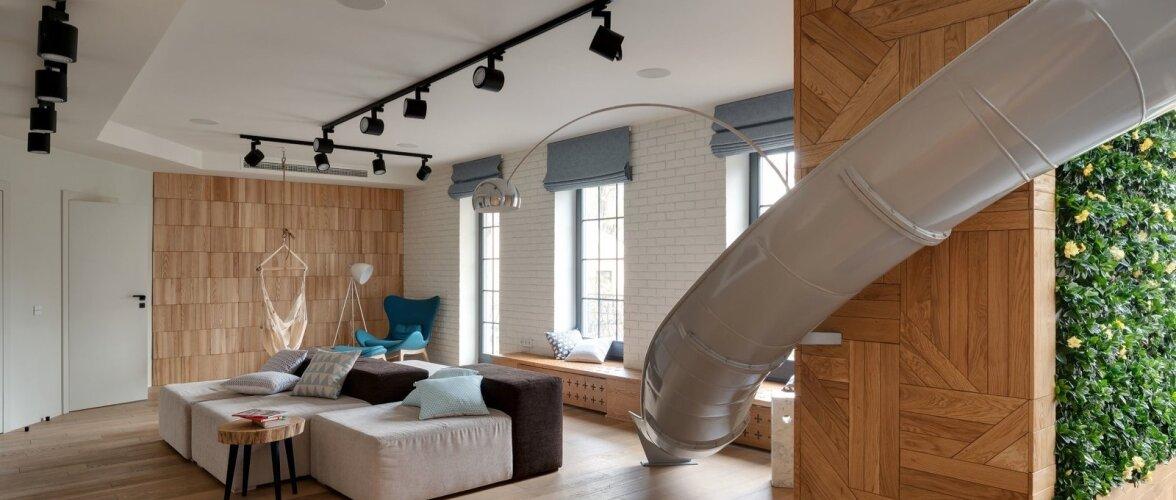 Vau-elemendiga korter — kui kodus on liumägi