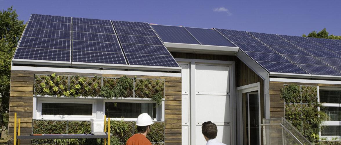 KredEx jagab toetust päikesepaneelide soetamiseks