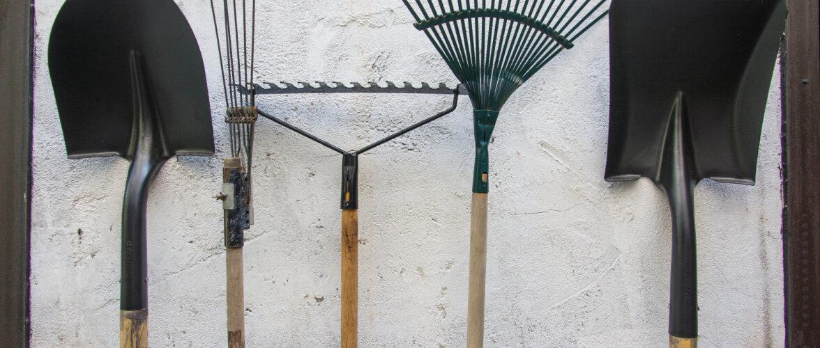 Et aiatööriistad ei läheks roostetama. Hoolduse ja hoiustamise ABC