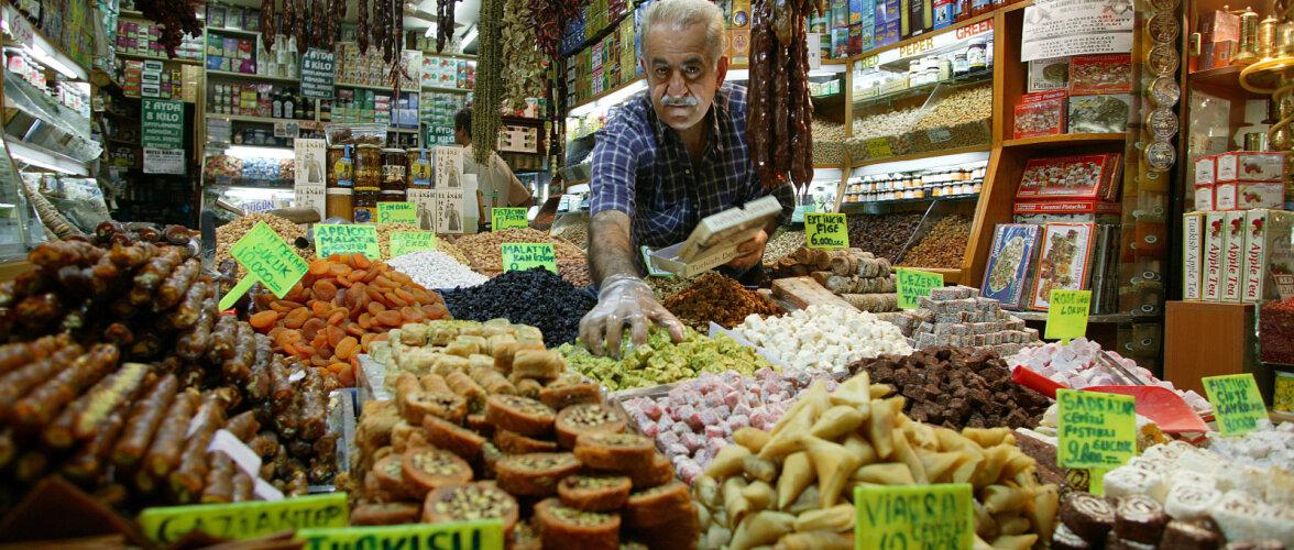 Gurmeereis Istanbuli: maitseid kahelt kontinendilt