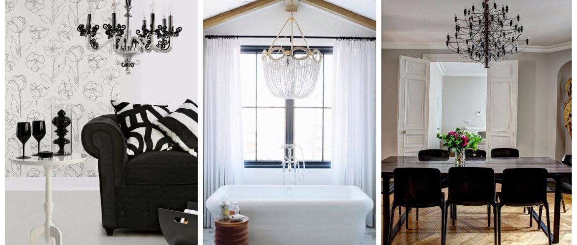 FOTOD | Lühter kaunistab igat ruumi köögist vannitoani