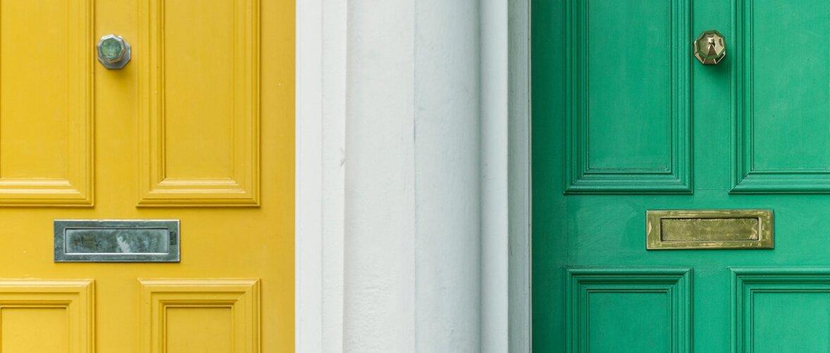 Nipid ja näpunäiteid, kuidas valida koju õige uks
