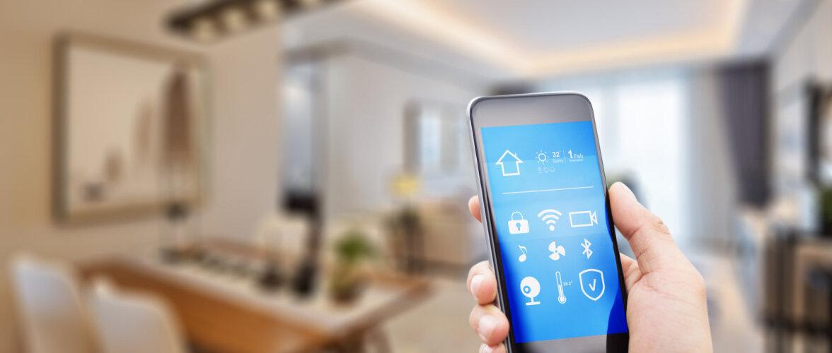 Majad muutuvad üha targemaks. Muuda klaasi läbipaistvust, juhi kardinaid või multimeediat