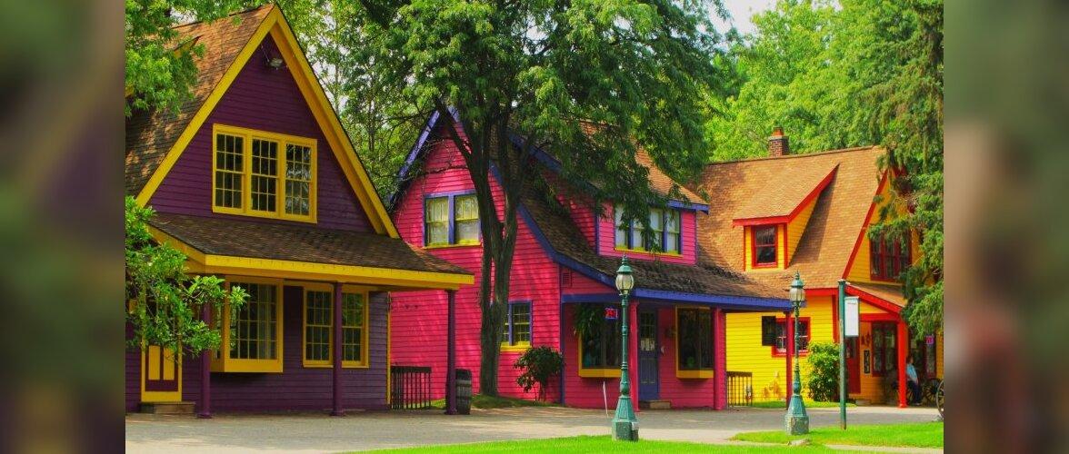 Kõige värvilisemad majad maailmas