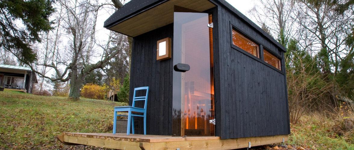 Vaata pilte Ahvenamaa liikuvast saunast, mis ehitati valmis vähem kui 3500 euroga