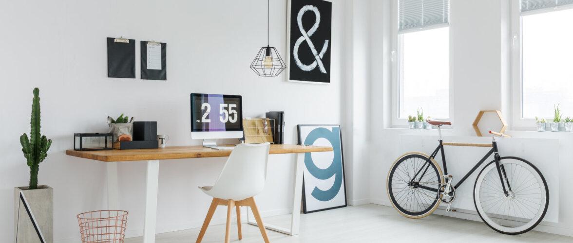 Töö kodukontoris — kuidas olla produktiivne ning säilitada piir koduse ja töise vahel?