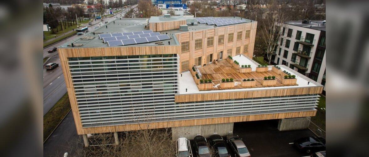 FOTOD: Eesti esimene ökobüroohoone sai valmis