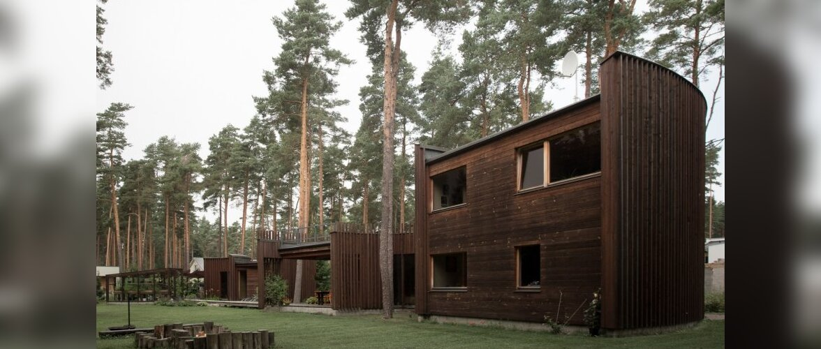 Aasta Puitehitis 2007. Villa Tõra