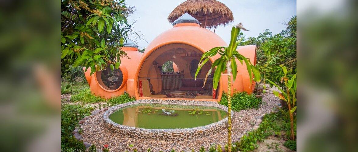 Kumerate vormidega kuppelmaja Tais on odav ja omanäoline