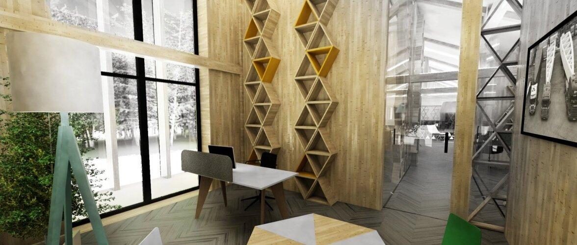 ARCWOOD PEAKONTOR Arhitekt: Kadarik Tüür Arhitektid, Kadri Tamme Sisearhitektuur