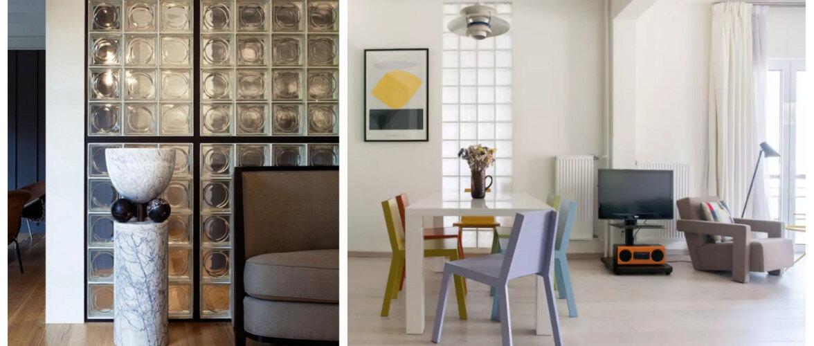Klaasplokid sisekujunduses on taas au sees — vaata lahedaid stiilinäiteid!